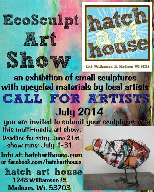 ecosculpt poster 2014