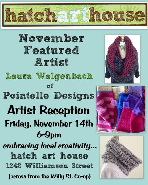 Laura November poster