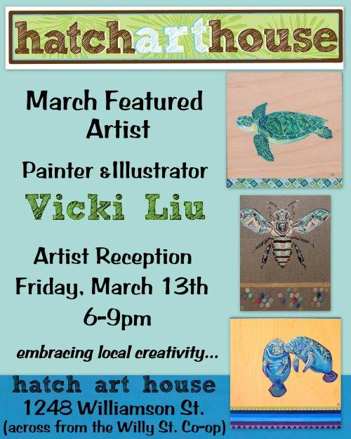 Vicki Liu poster March