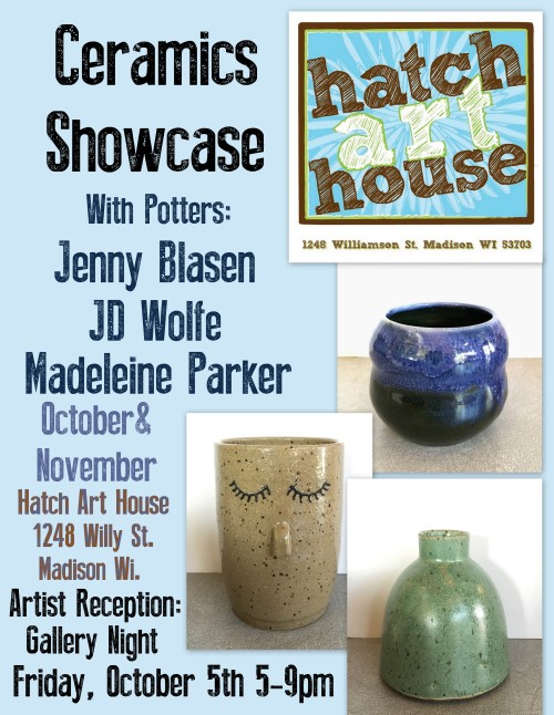 ceramics showcase poster 2018