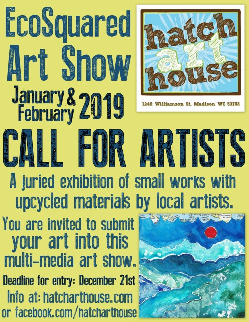 eco call for artists 2019